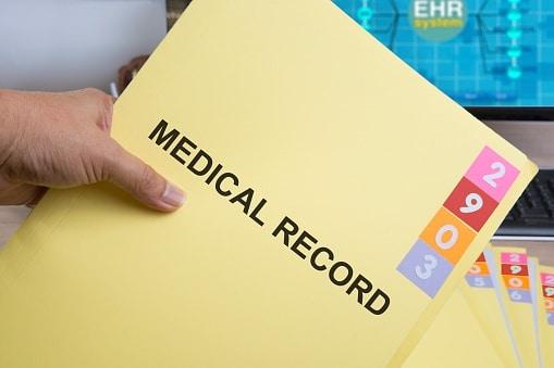 medical records folder